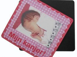 Promotion photo mouse pad