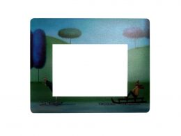 Mouse pad with photo frame-Frame mouse pad