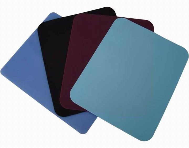 natural rubber foam mouse pad material with cloth