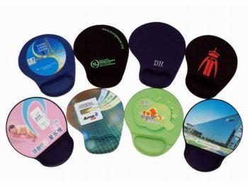 Custom printed gel mouse pads