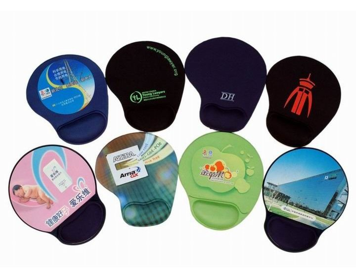 image about Printable Mouse Pad known as Customized posted gel mouse pads - ay-pad