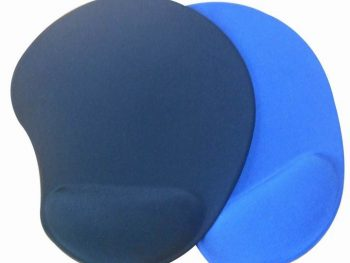 Non-toxic and Superior Materials Gel Mouse Pads with Wrist Rest For Business