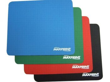 Fashionable Colour Soft Mouse Mats / Mouse Pads Optical-friendly