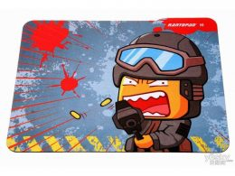 Designs natural rubber mouse pad