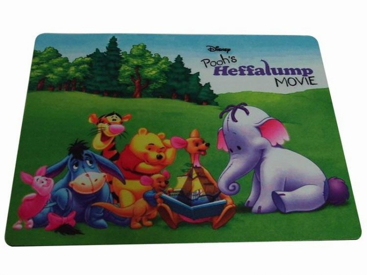 die cuting sublimation mouse pad