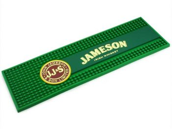 Promotion beer advertising soft pvc bar mat