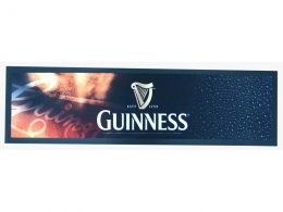 Rubber bar runner with logo printing