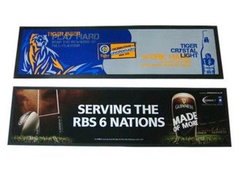 Rubber promotional bar mats