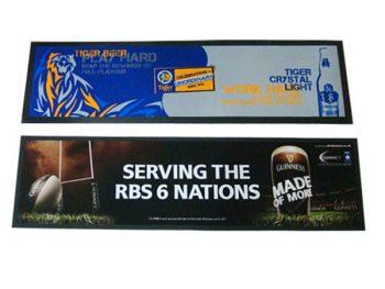 Rubber promotional bar mats
