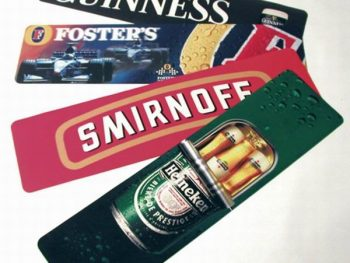 Promotional bar counter mat