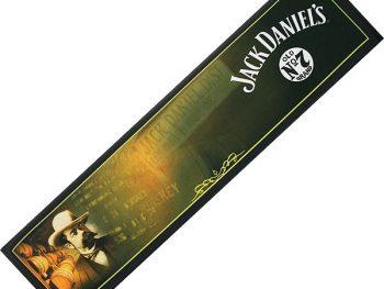 Logo printed bar mats