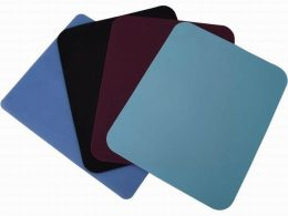 Promotional Rubber Mouse Pads, Colour Soft Fabric Mouse Mats