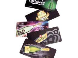 Anti-Slip Sublimation Rubber Bar Runner , Rubber Bar Mat For Club