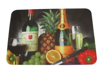 Durable Custom Rubber Bar Runner , Promotion Rectangular Mat