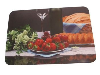 Sublimation Printed Rubber Bar Runner For Restaurants