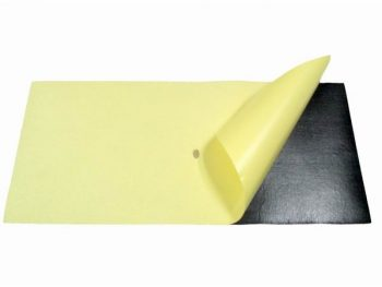 Non-Slip Rubber Foam Mouse Pad Material Roll With Adhesive