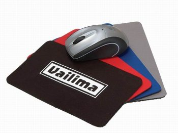 Color Rubber Promotional Mouse Pads, Sublimation Soft Fabric Mouse Mats