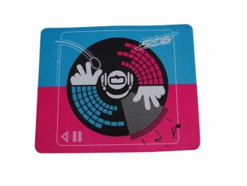 Heat Transfer Printed Rubber Mouse Mats For Advertising 210x260mm
