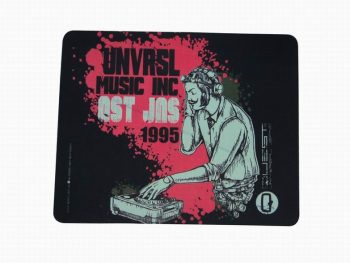 Soft Printed Promotional Mouse Pads With Anti Skid Rubber Base