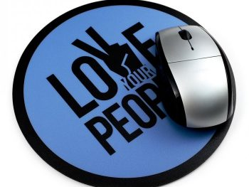 Smooth Fabric Promotional Mouse Pads, Custom Printed Rubber Mouse Mats