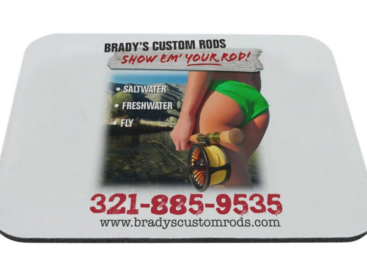 Anti Slip Rubber Promotional Mouse Pads / Mousepads With Custom Logo
