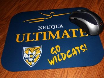Sublimation Smooth Fabric Rubber Mouse Pad For Promotional Gift