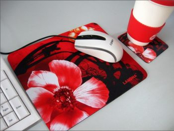 Personalized Anime Mouse Mats, Computer Natural Rubber Mouse Pad