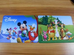 Customized Cute Catoon Rubber Mouse Pad With Full Color Printing