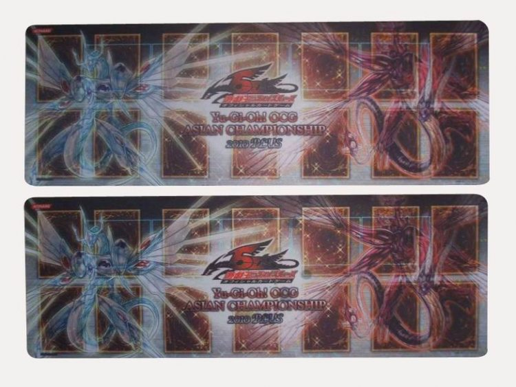 Card game mat,rubber play mat, YU-Gi-OH play mat