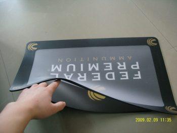 Insert Counter Mat, Photoframe Desk Pad, Rubber Counter Mat