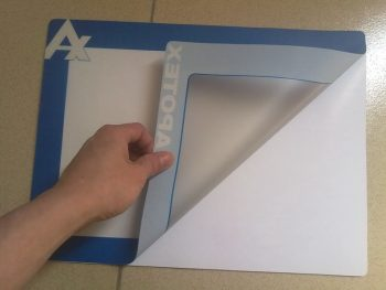 Custom Promotional Insert Counter Mats with Rubber Base And PVC Surface
