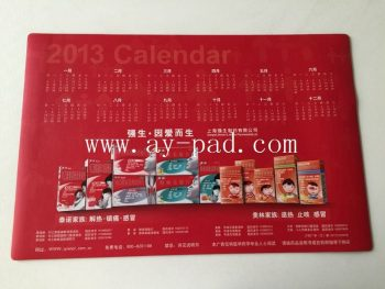 High-grip Rubber Desk Pad,Smooth Table Mat,large Size Office Calendar Desk Mat