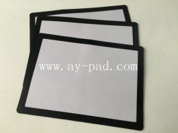 Black Frame Menu Counter Mat , Interchangeable Poster , Table Top Poster Displaymats