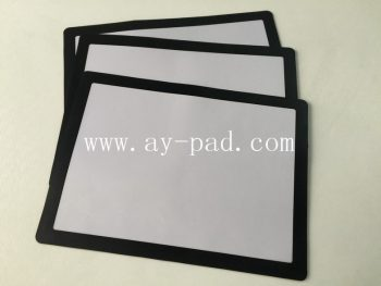Black Frame Menu Counter Mat , Interchangeable Poster , Table Top Poster Displaymats