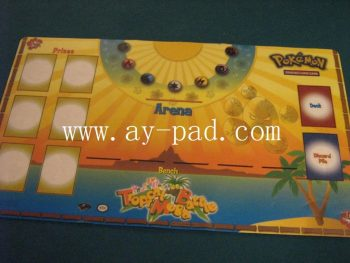 Anti Slip Rubber Big Size Game Play Mat For Trading Card