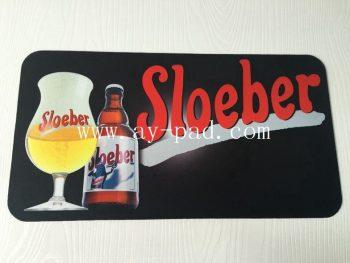 Rubber Non Skid Durable Washable Non Slip Bar Mats With Logos