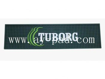 Large Best Heat Resistant PVC Personalized Runner Bar Mat