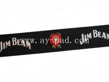 Advertising Non Woven PVC Beer Bar Colorful Runner Mat