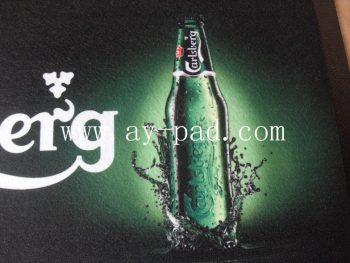 Advertising Customized Drip Rubber Border Nitrile Mat Bar Runner