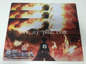Sublimation Rubber Playmat For Game Room Table