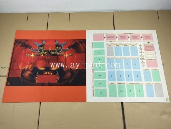 AY Rubber Material and Custom made printed flat mousepad Style Play mat /Game mat