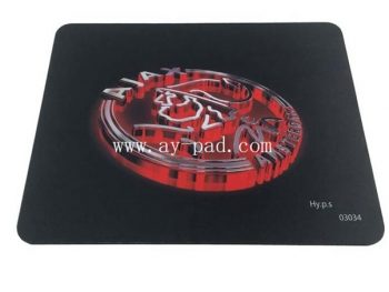 AY printed rubber mouse pad sublimation promotional customized logo mouse pad wholesaler