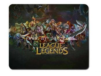 Mouse Mat with Logo/Customized Mouse Pad Best Selling Custom League of Legends Mouse Pad