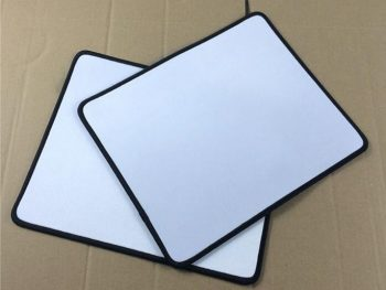 AY Trade assurance sublimation blank cloth rubber mouse pad