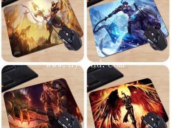 AY Sublimation rubber mouse pad with logo printing