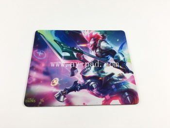 Promotion MTG Rubber Polyester Mouse pads Sublimation Custom Mousepad