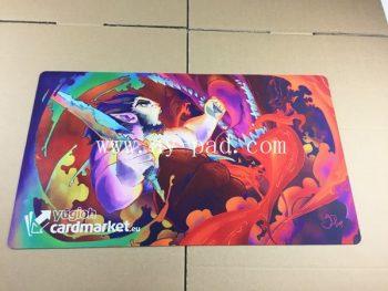 Stock Product Anime MTG Game Mouse Pad Fabric Custom Playmat