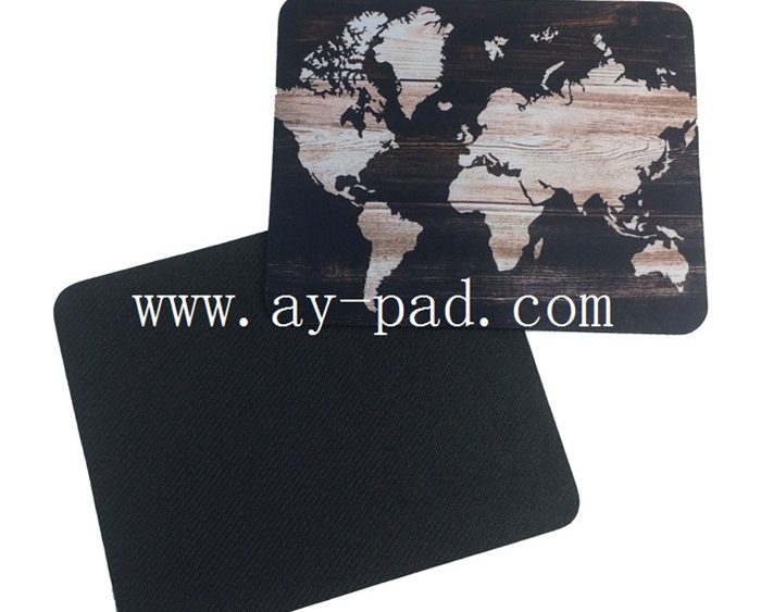 AY Anti-slip Computer Mats Full Colour Mousepad Custom Printed Mouse Mats