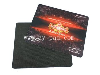 AY Factory Price Custom Print Logo Computer Rubber Mousepad