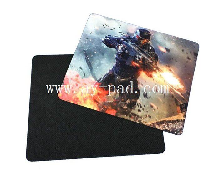 AY Custom Logo Printing Rubber Mat Gamer Mouse Pad